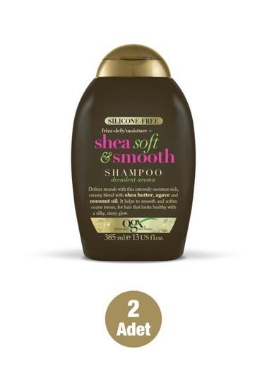 Organix Organix Shea Soft Smooth Şampuan 385 Ml X2 Adet Renksiz